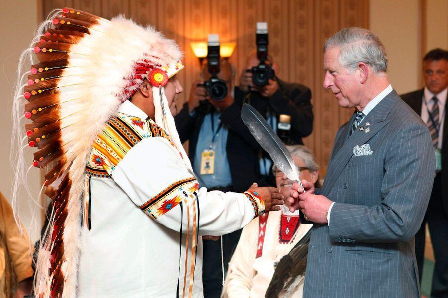 Le prince Charles à Toronto, le 22 mai 2012