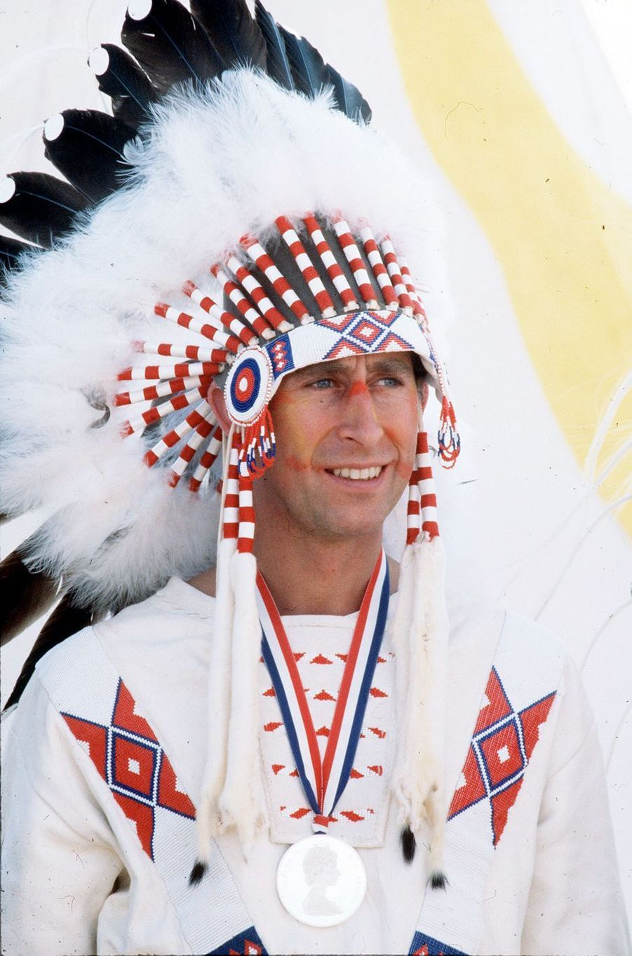 Le prince Charles au Canada, en juillet 1977