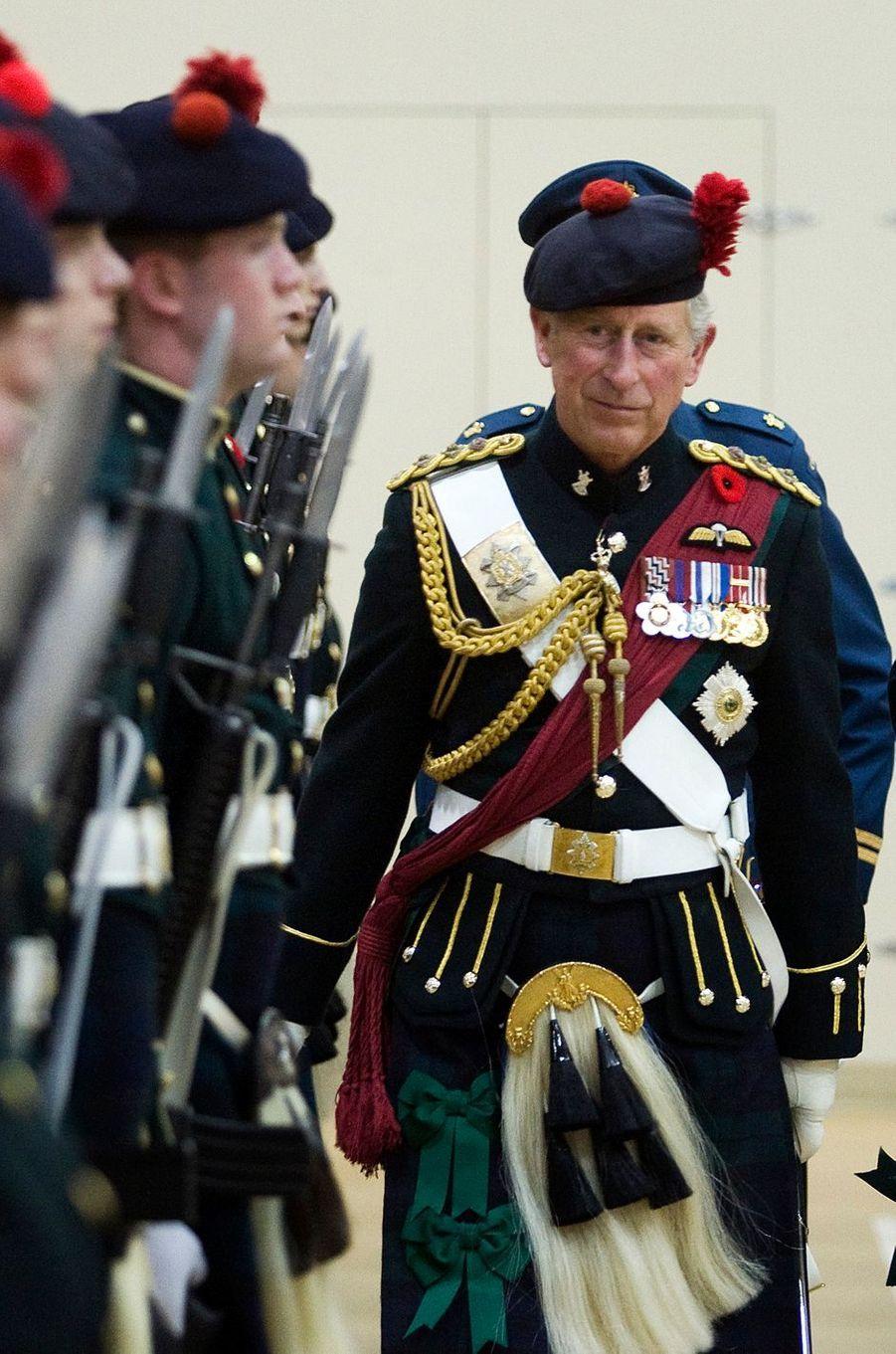 Le prince Charles à Montreal, le 10 novembre 2009