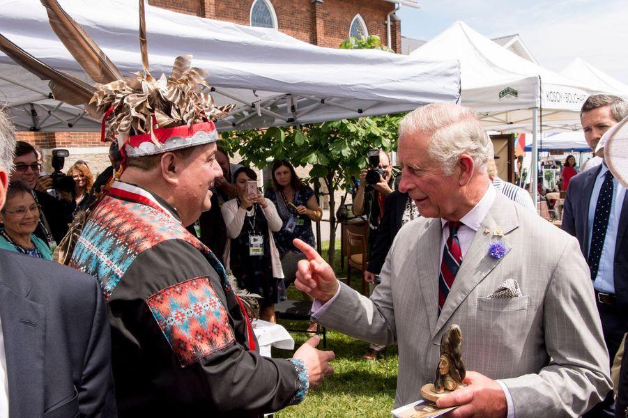 Le prince Charles à Wellington, le 30 juin 2017