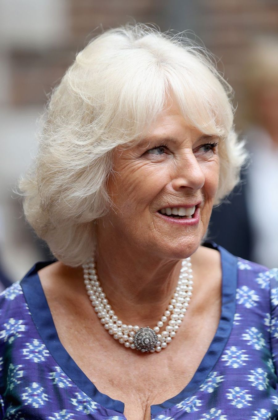 La duchesse de Cornouailles Camilla à Londres, le 6 septembre 2016