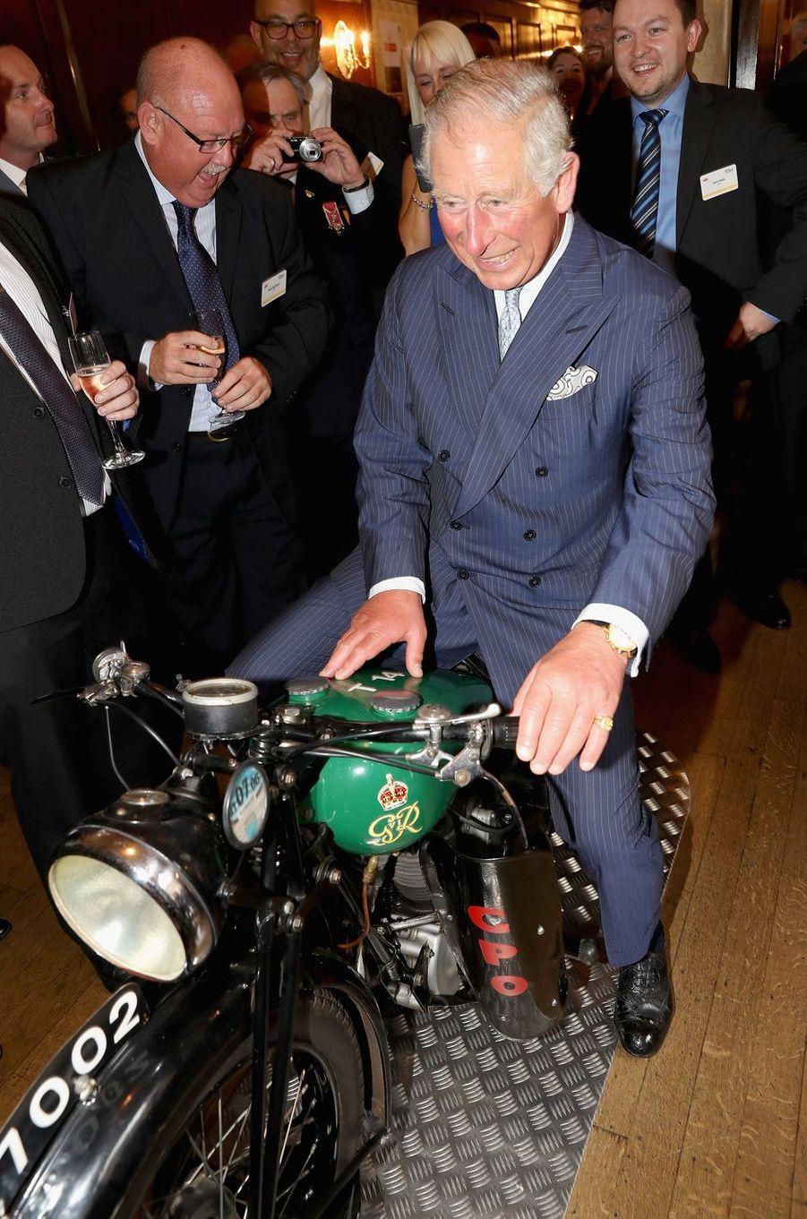 Le prince Charles à Londres, le 6 septembre 2016