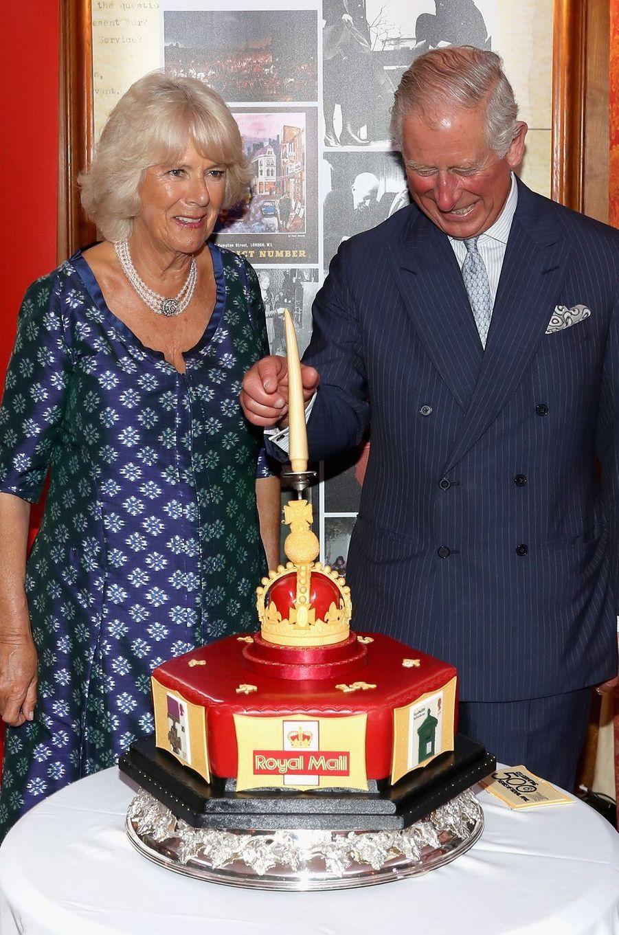 Le prince Charles et la duchesse de Cornouailles Camilla à Londres, le 6 septembre 2016