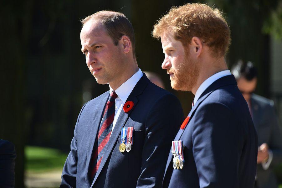 William, duc de Cambridge et le prince Harry