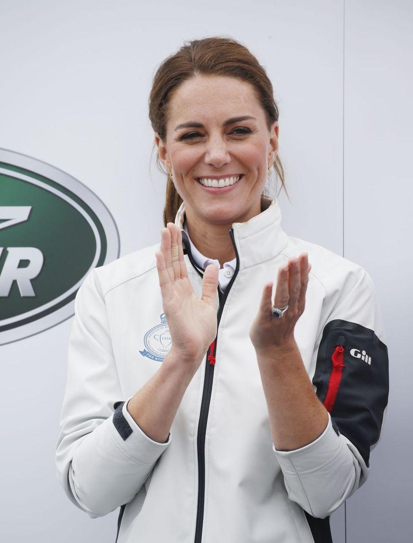 Kate Middleton à Cowes sur l'île de Wight le 8 août 2019