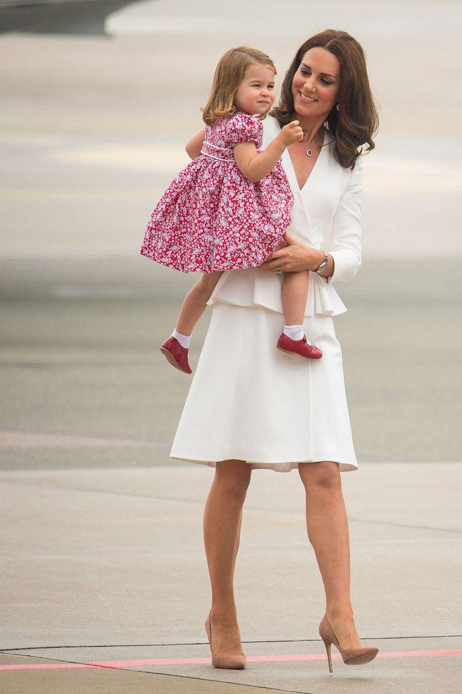 Charlotte et Kate,le 17 juillet 2017.