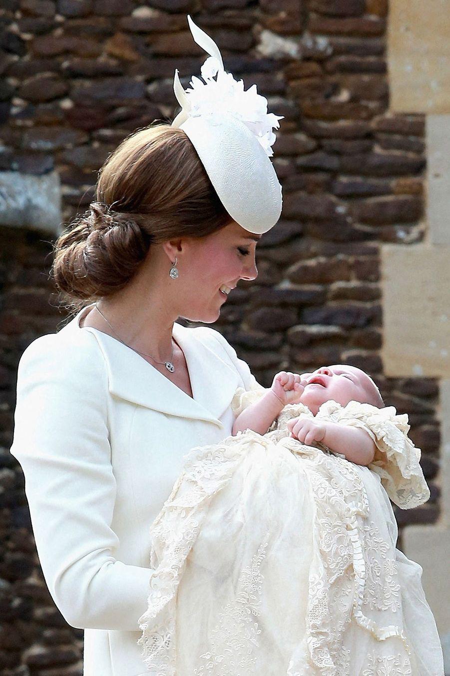 Charlotte et Kate,le 5 juillet 2015.