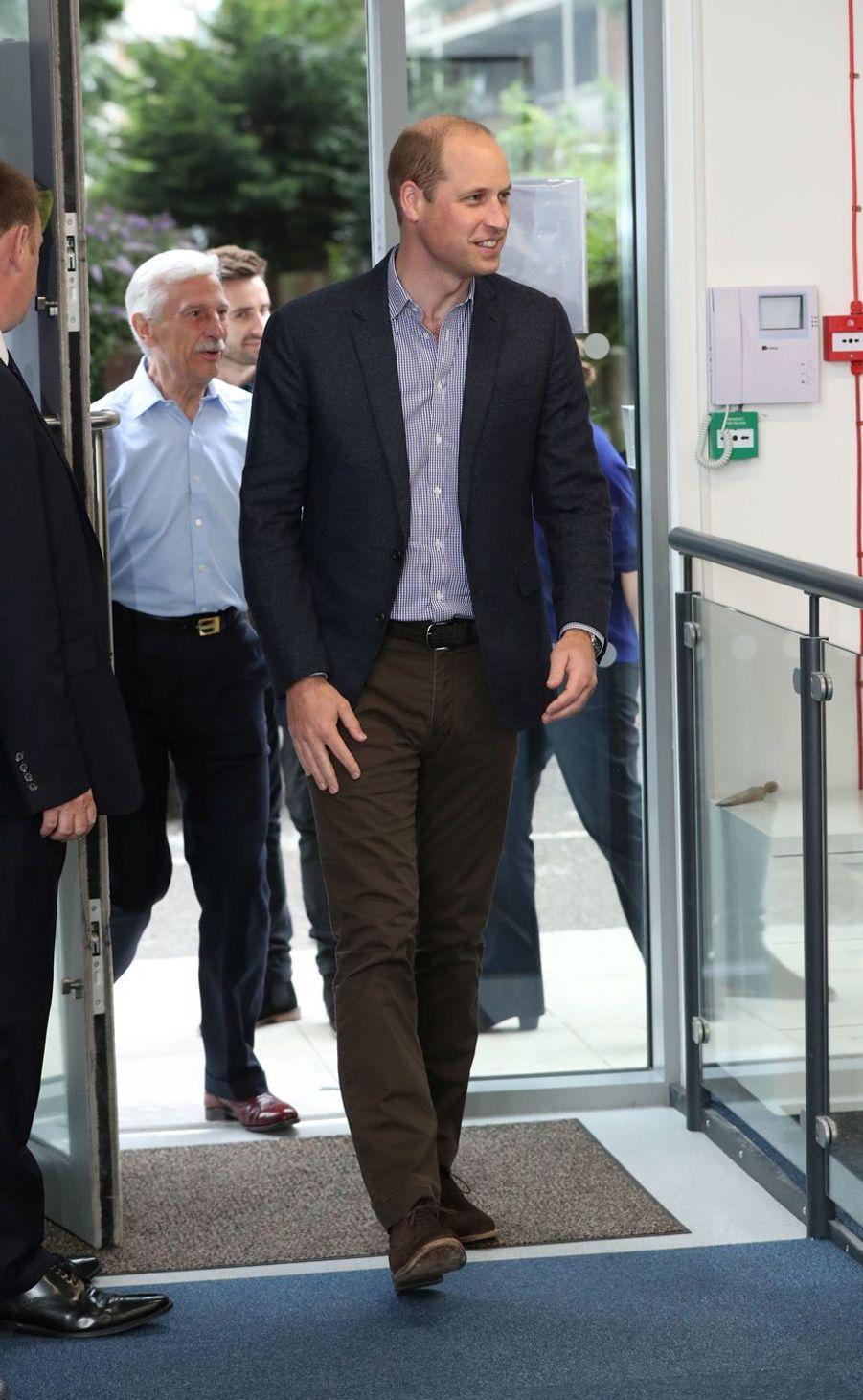 Le prince William à Londres, le 26 juin 2019