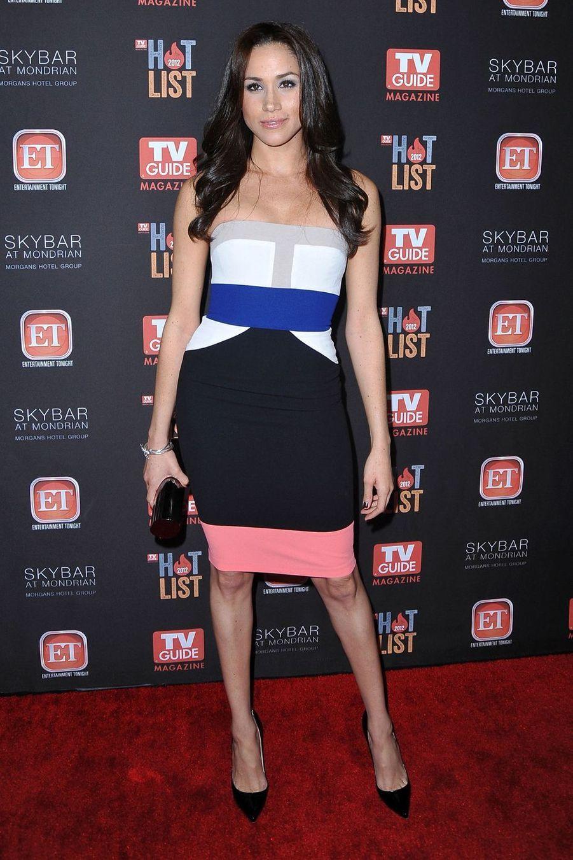 Meghan Markle lors d'un événement organisé par «TV Guide Magazine» à Los Angeles en novembre 2012.