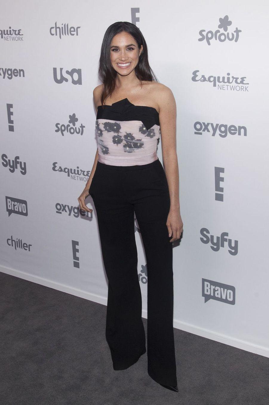 Meghan Markle à un événement organisé par la NBC à New York en mai 2015.