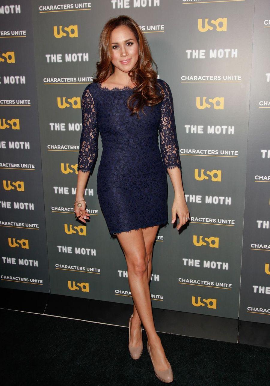 Meghan Markle lors d'un événement organisé par USA Network au Pacific Design Center à West Hollywood en février 2012.
