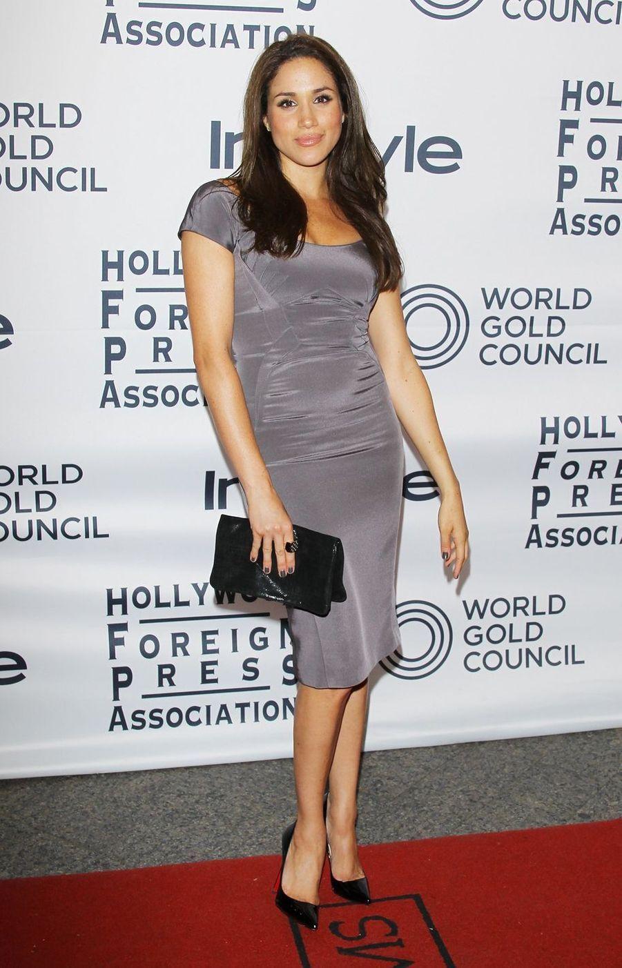 Meghan Markle lors d'un événement organisé en marge du Festival du film de Toronto en septembre 2012.