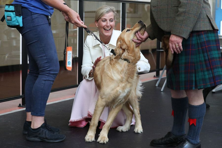 La comtesse Sophie de Wessex à Forfar, le 1er juillet 2019