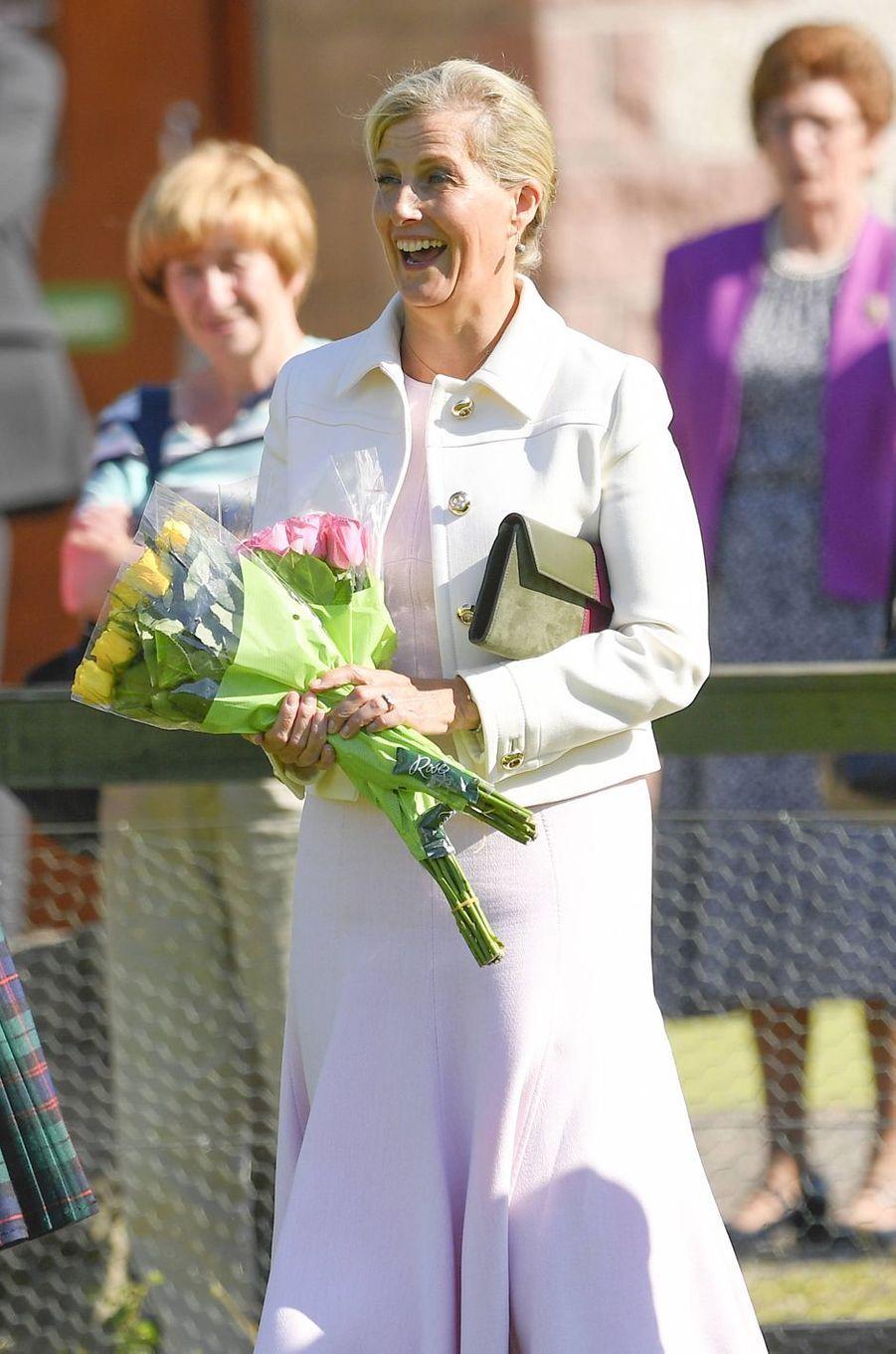 La comtesse Sophie de Wessex, le 1er juillet 2019 à Forfar