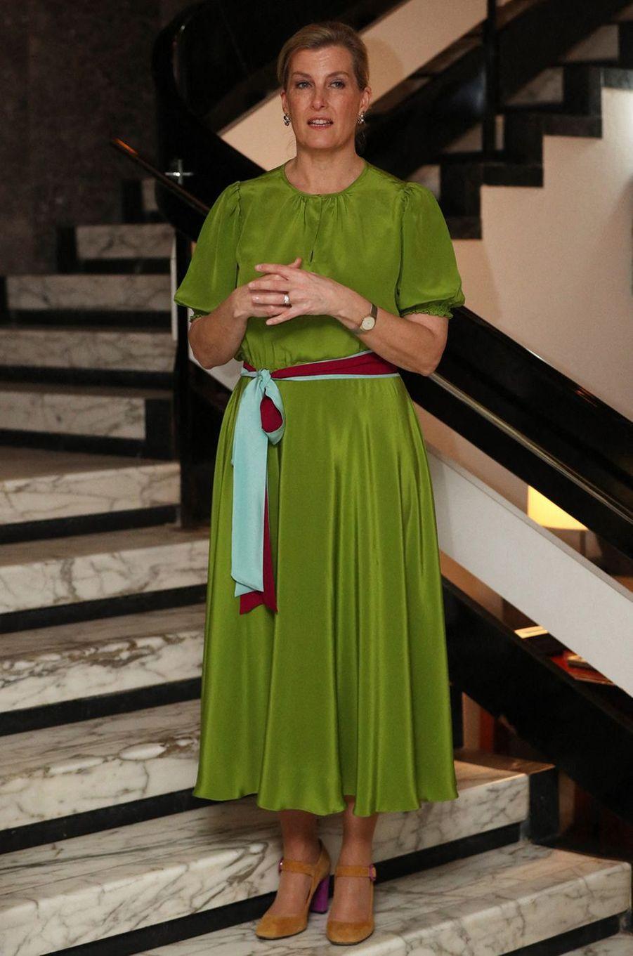 La comtesse Sophie de Wessex à une réception à Freetown en Sierra Leone, le 22 janvier 2020