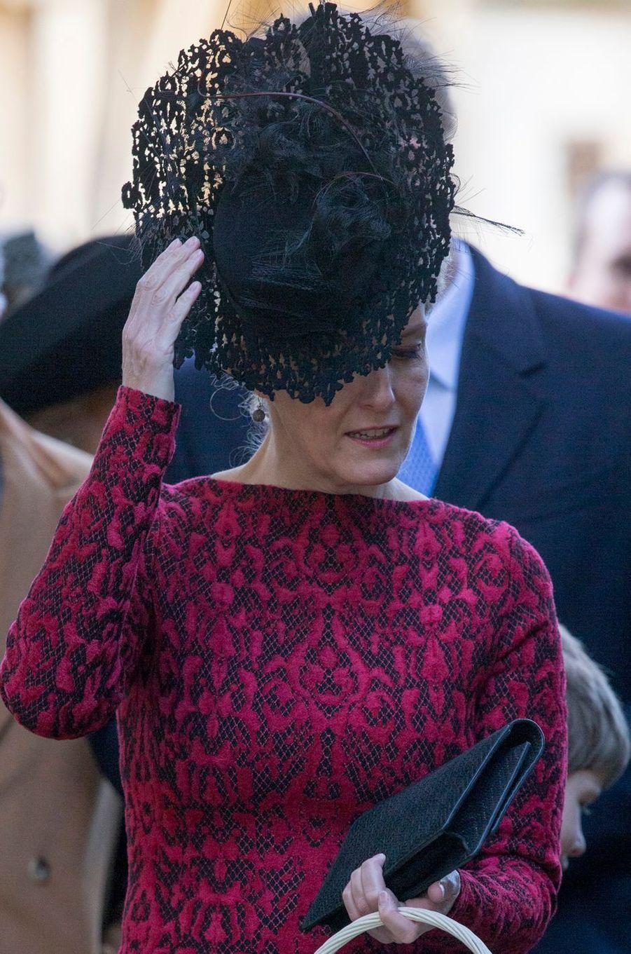 La comtesse Sophie de Wessex, le 25 décembre 2016