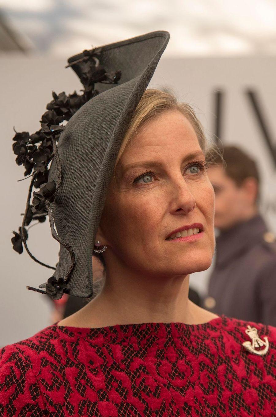 La comtesse Sophie de Wessex, le 9 mars 2017