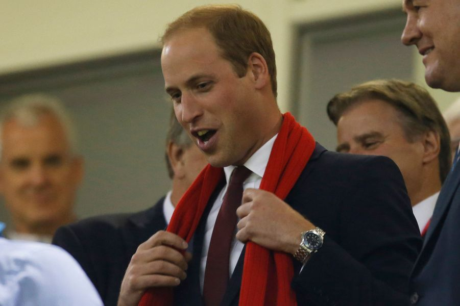 Le prince William au match Pays de Galles-Fidgi à Cardiff, le 1er octobre 2015