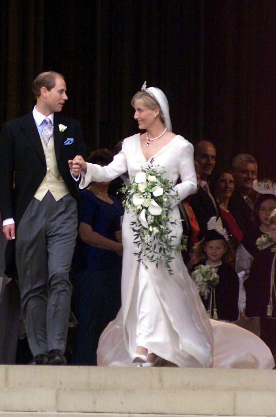 Le prince Edward et Sophie Rhys-Jones, le 19 juin 1999