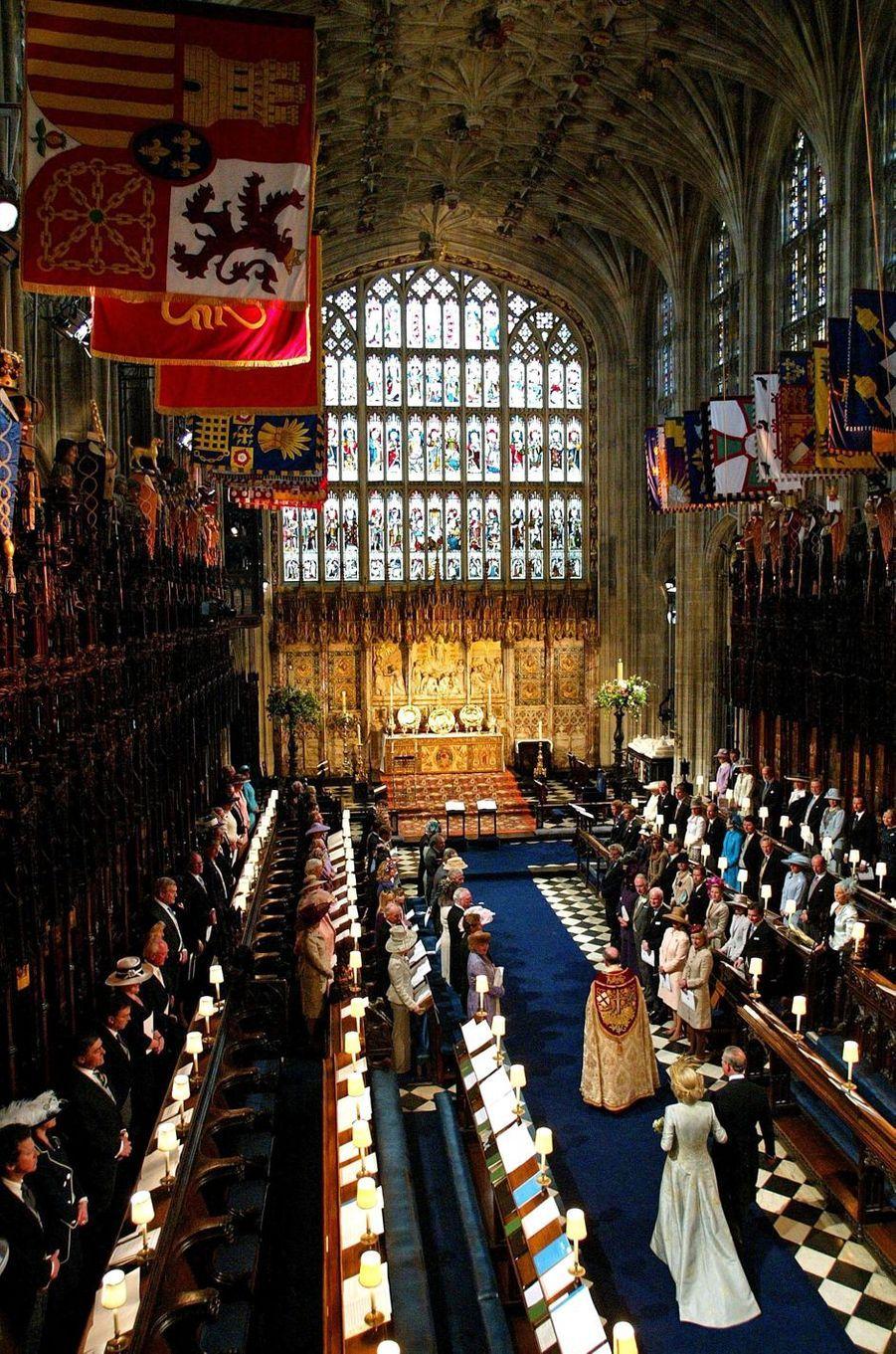 Mariage du prince Charles et de Camilla Parker-Bowles, le 9 mai 2005