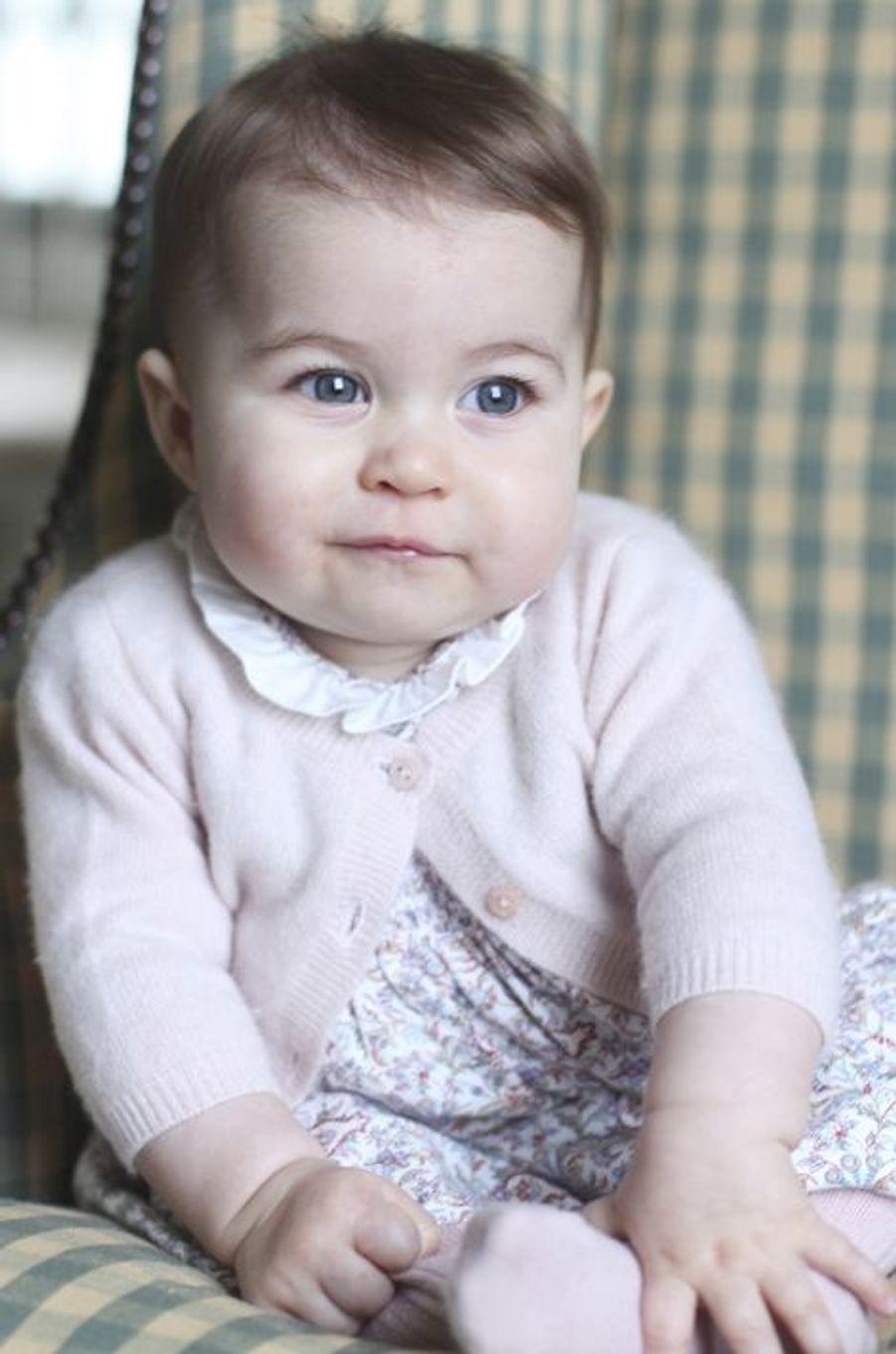 La princesse Charlotte à 6 mois, en novembre 2015