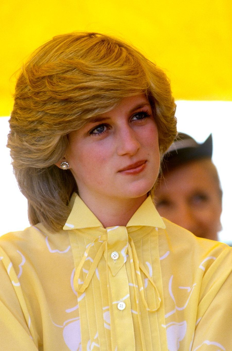 Lady Diana le 21 mars 1983