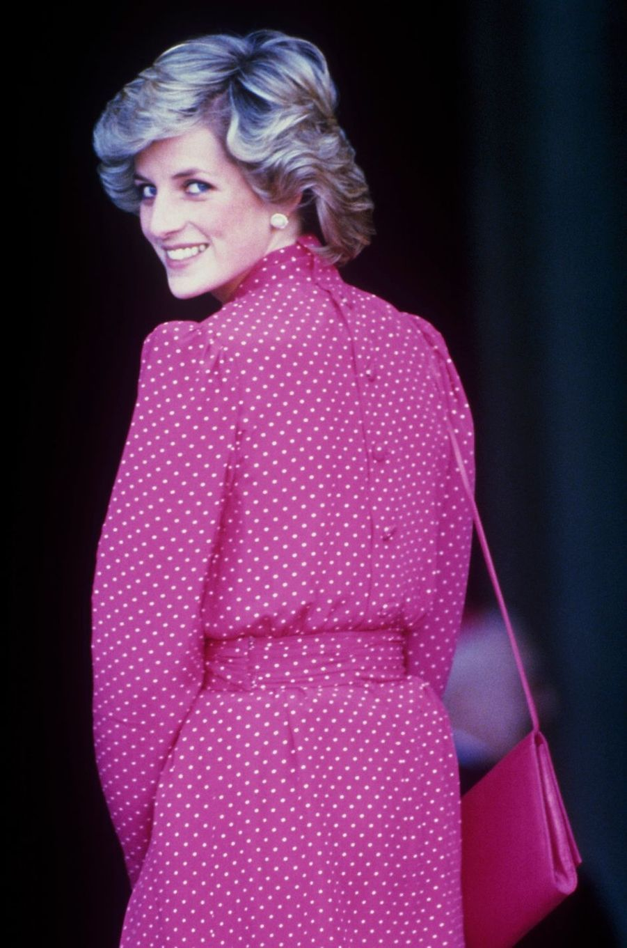 Lady Diana le 28 avril 1985