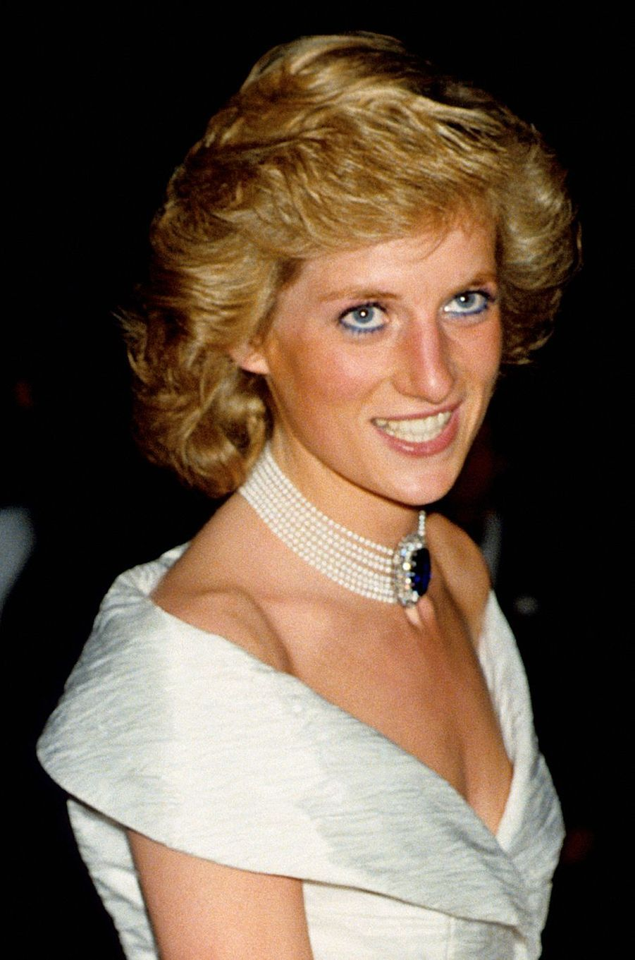 Lady Diana le 1er juin 1988