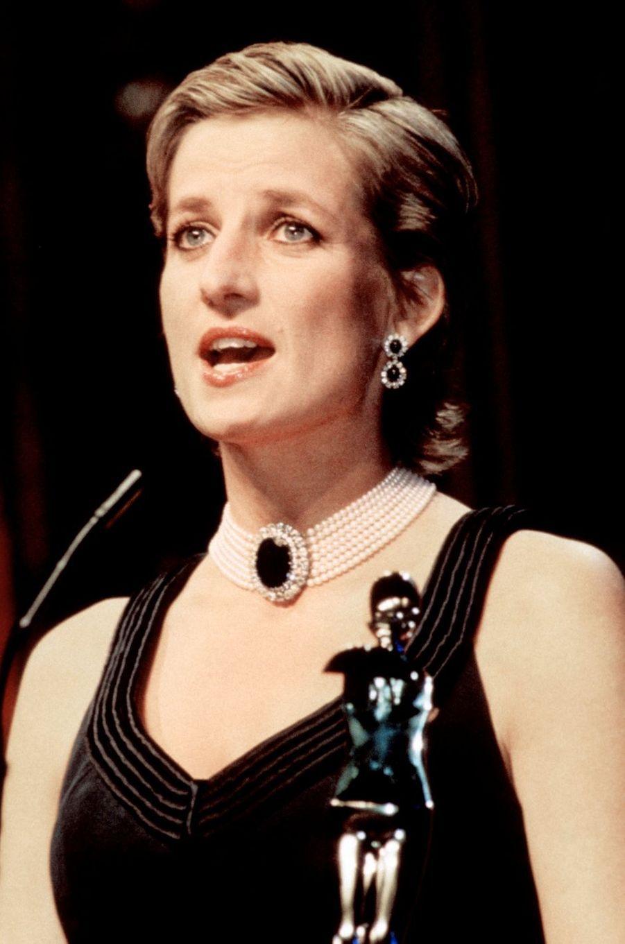 Lady Diana le 1er février 1997