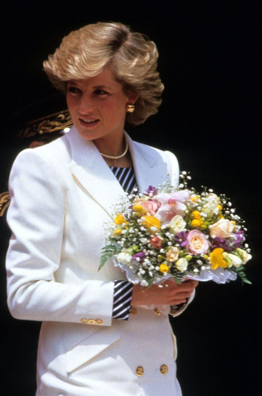 Lady Diana le 10 mai 1987