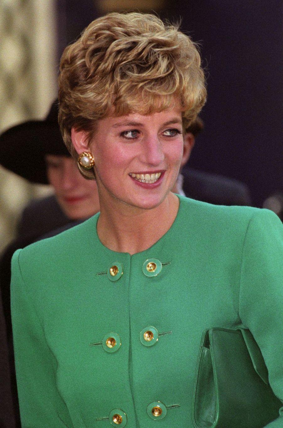 Lady Diana le 13 novembre 1992