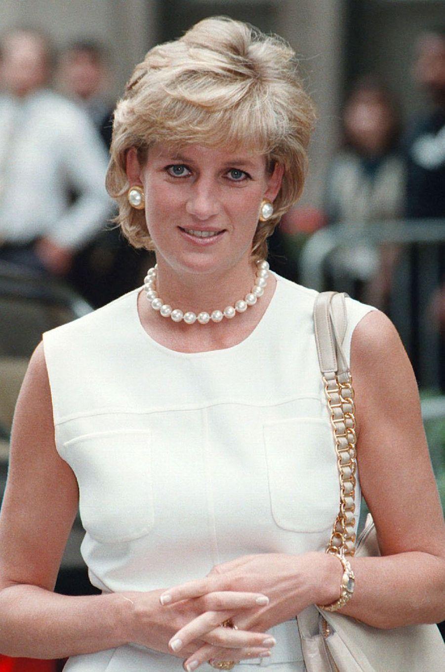 Lady Diana le 6 juin 1996