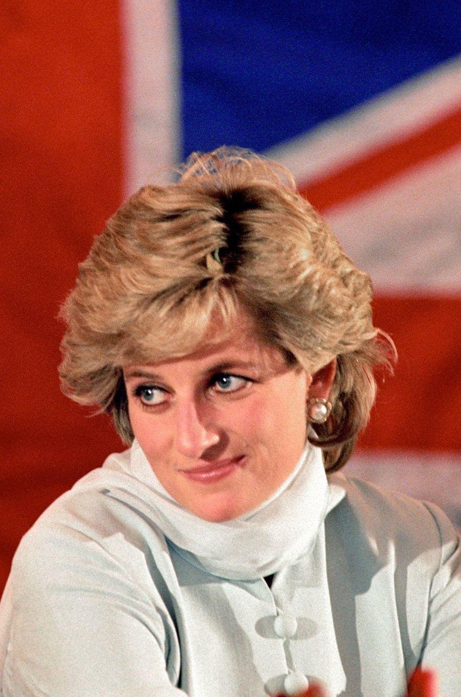 Lady Diana le 22 février 1996