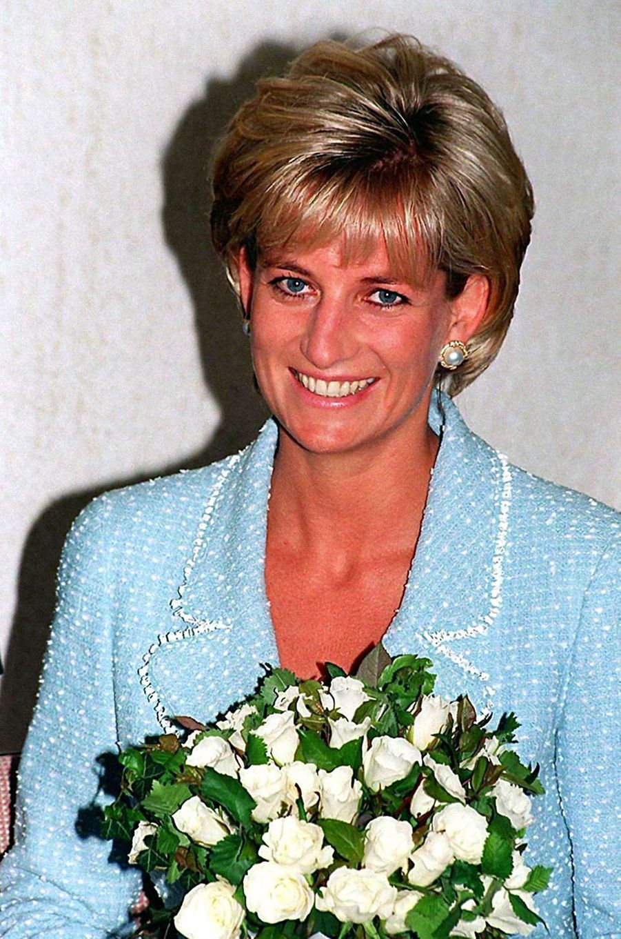 Lady Diana le 21 avril 1997