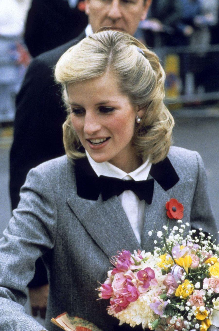 Lady Diana le 8 novembre 1984