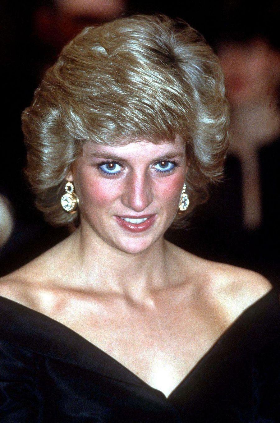 Lady Diana en novembre 1987