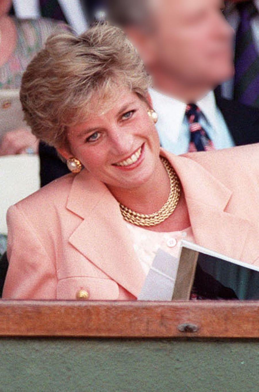 Lady Diana le 4 juillet 1993