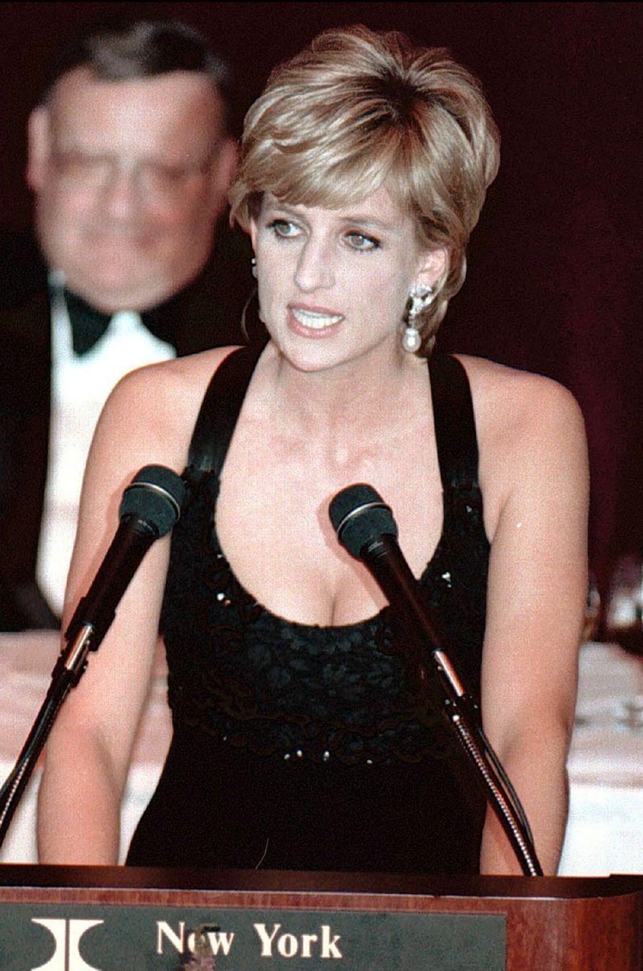 Lady Diana le 11 décembre 1995