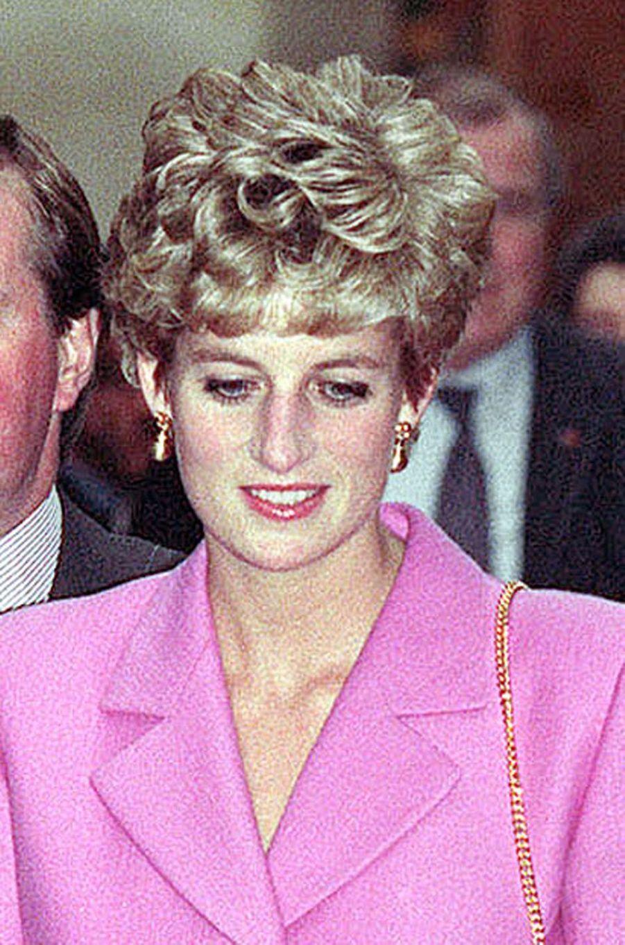 Lady Diana le 14 novembre 1992