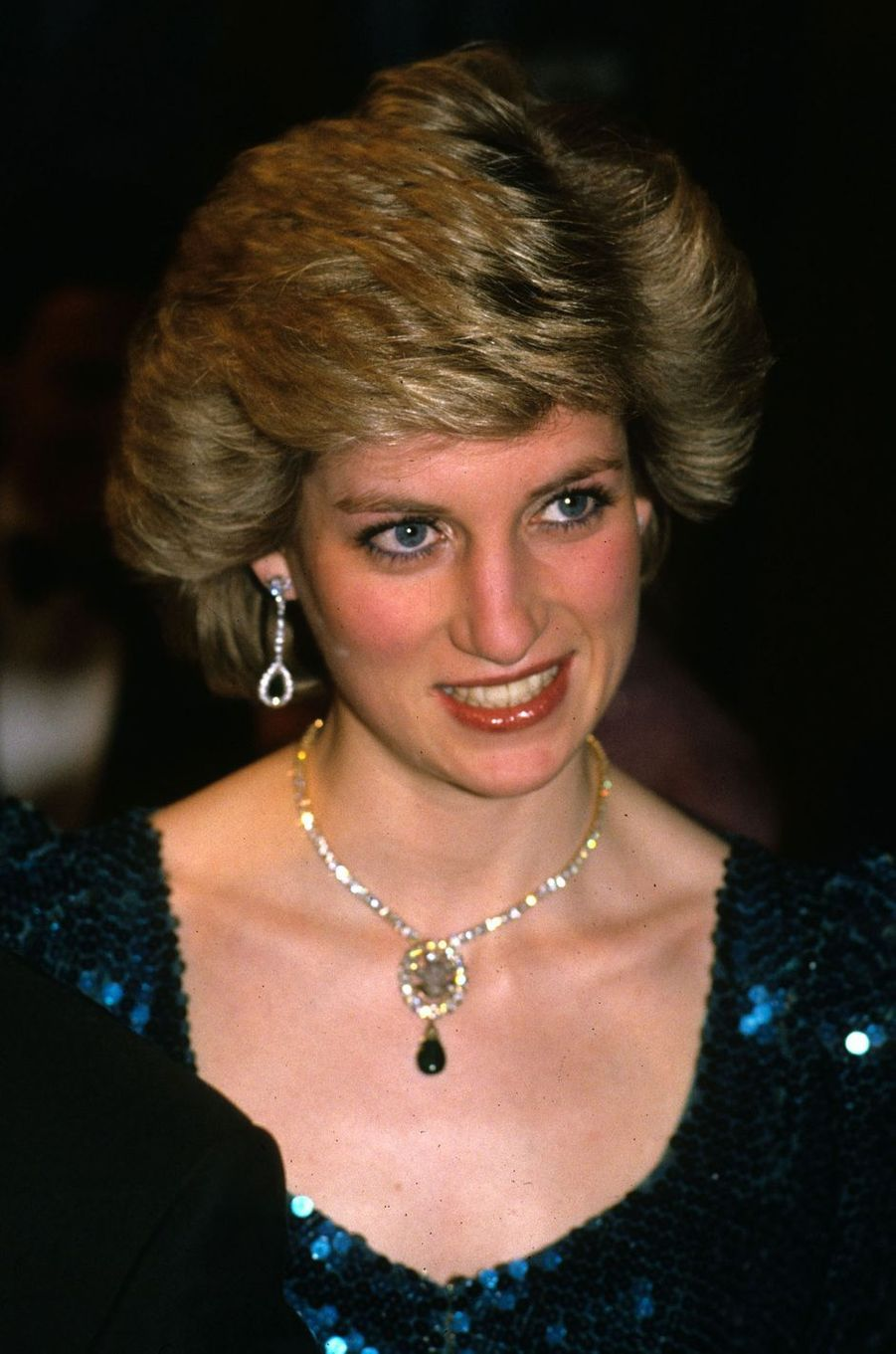 Lady Diana le 2 février 1986