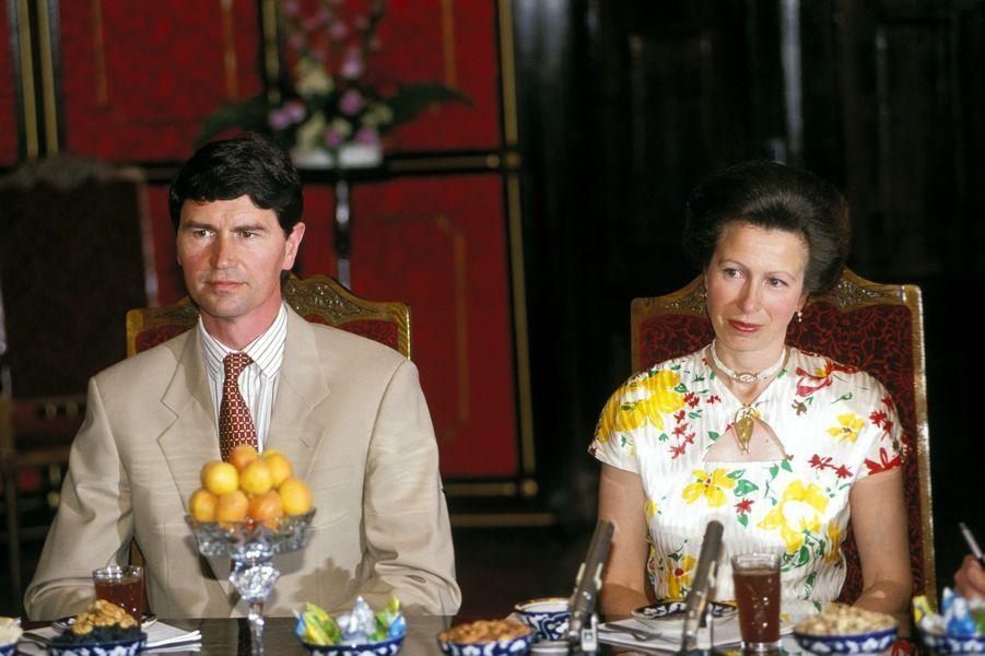 Timothy Laurence et la princesse Anne, le 17 juillet 1993