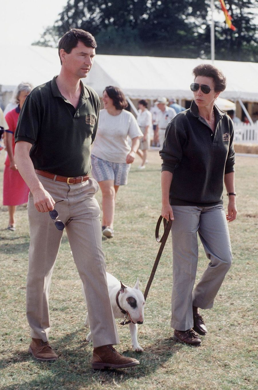Timothy Laurence et la princesse Anne, le 5 août 1995