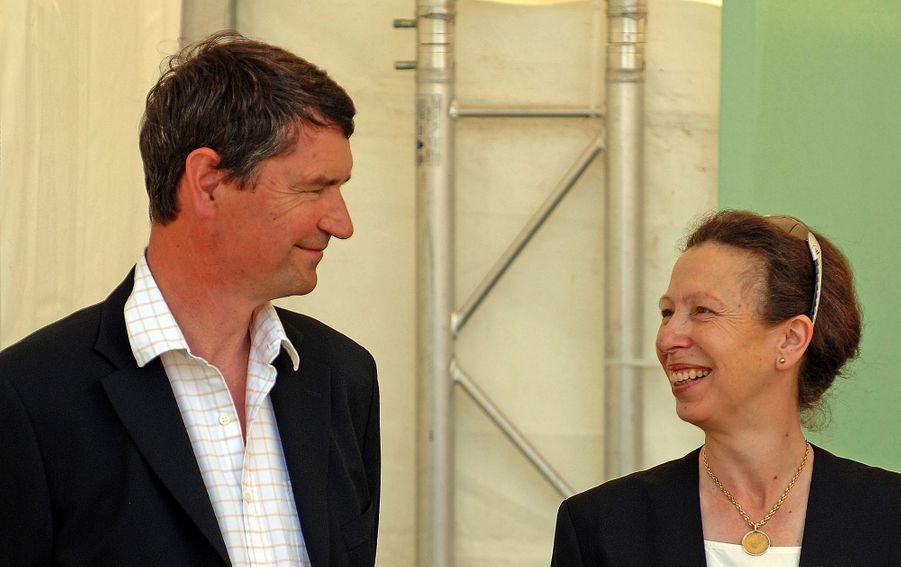 Timothy Laurence et la princesse Anne, le 5 août 2007