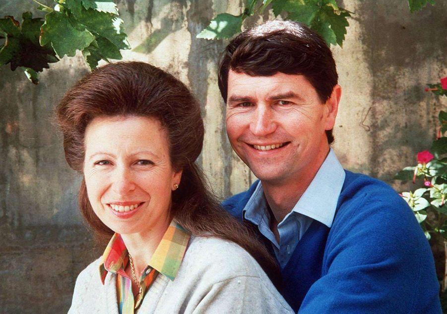 Timothy Laurence et la princesse Anne, en 1993