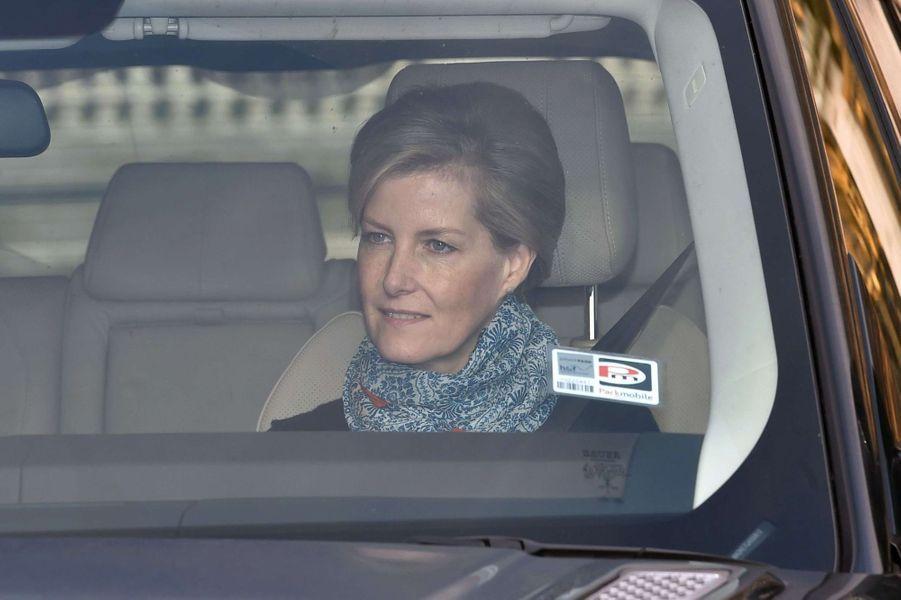 La comtesse Sophie de Wessex à Londres, le 16 décembre 2015