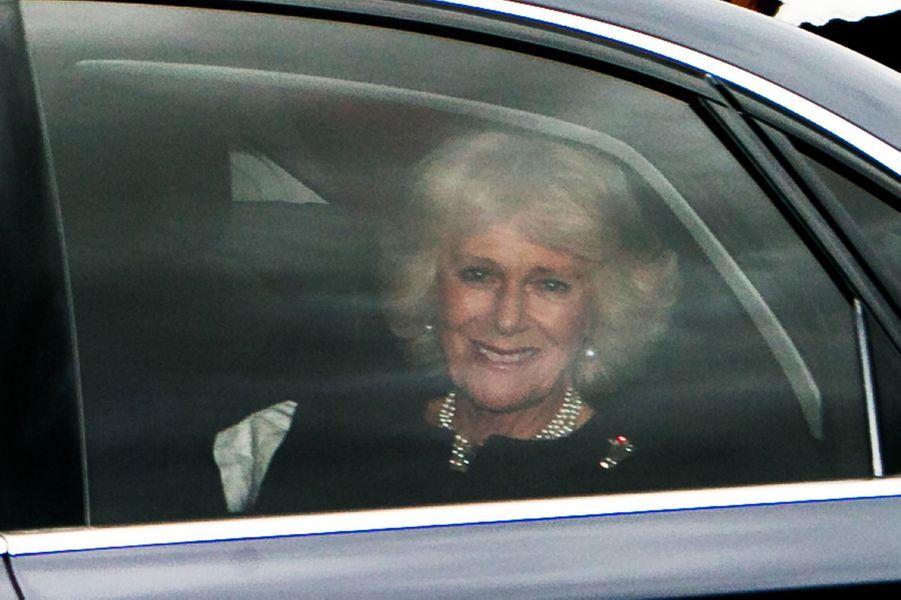 La duchesse de Cornouailles Camilla à Londres, le 16 décembre 2015