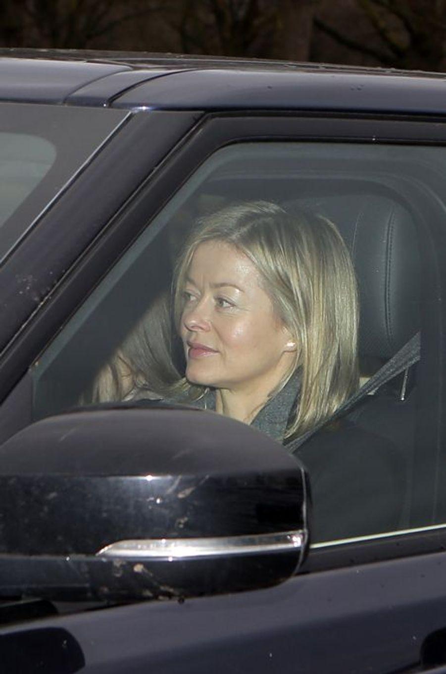 Lady Helen Taylor, fille du duc de Kent, à Londres le 16 décembre 2015