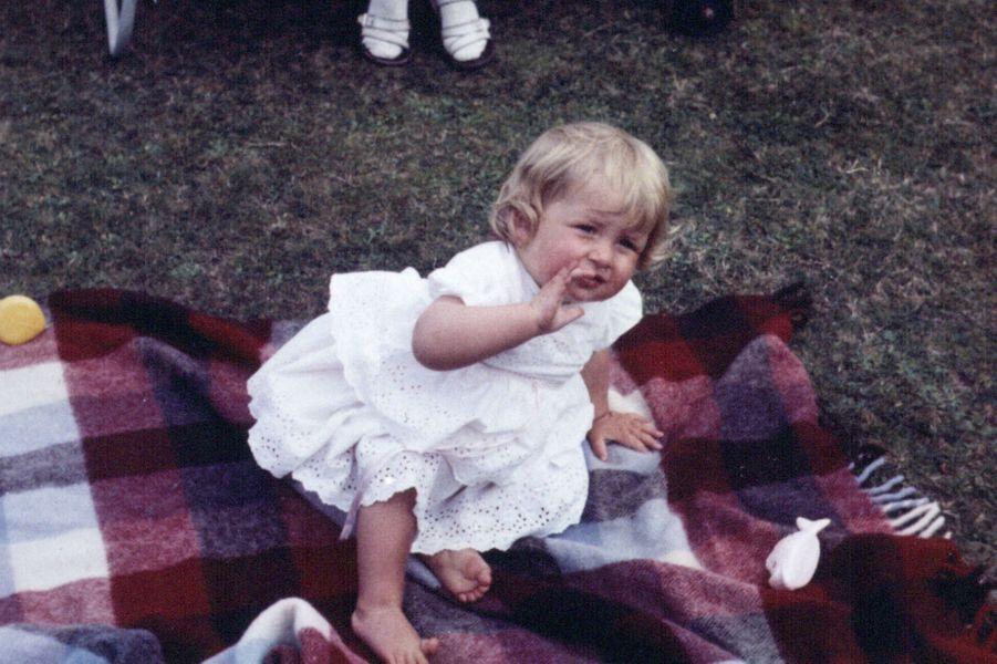 Diana Spencer, à 1 an, le 1er juillet 1962