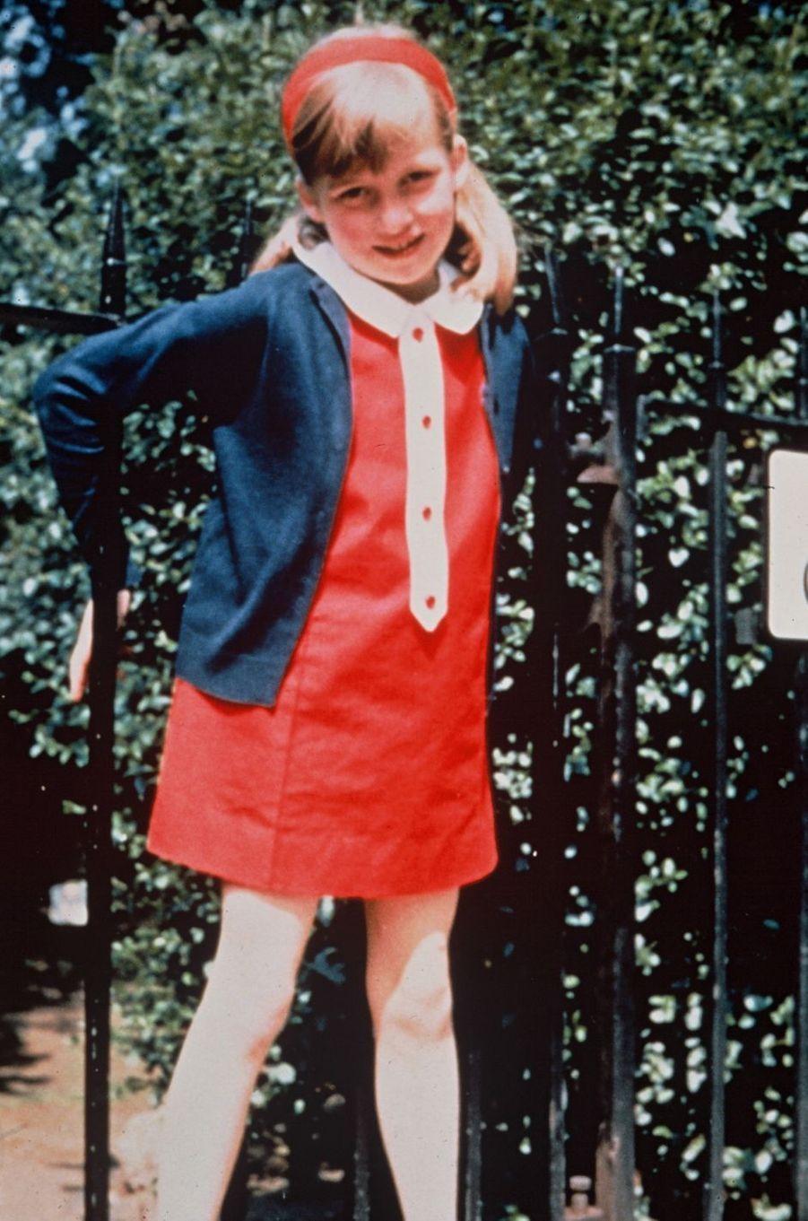 Diana Spencer en 1969