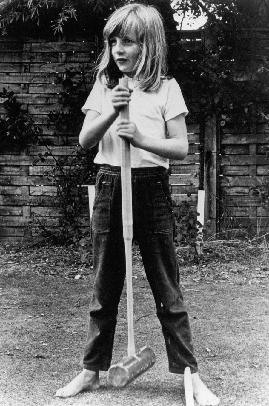 Diana Spencer en août 1970